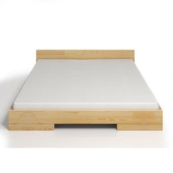 Pat dublu din lemn de pin SKANDICA Spectrum, 140 x 200 cm de la Skandica