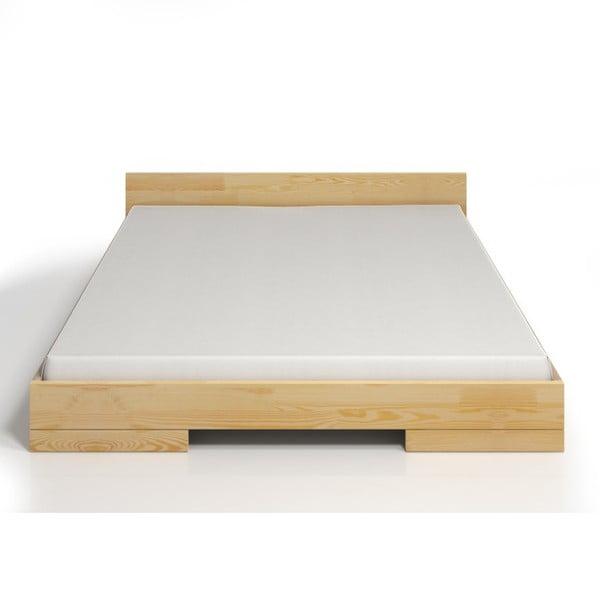 Pat dublu din lemn de pin SKANDICA Spectrum, 160 x 200 cm