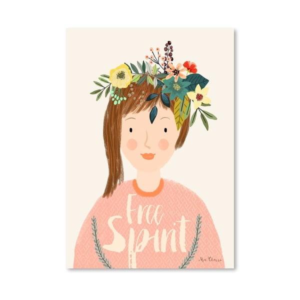 Plakát od Mia Charro - Free Spirit