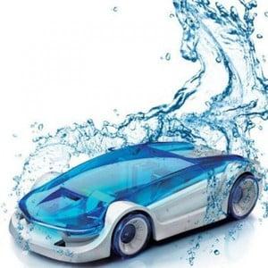 Mașinuță alimentată cu apă Gift Republic