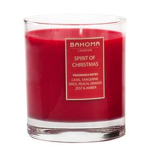 Vonná svíčka Bahoma Noel, vůně Vánoční nálada, 75 hodin hoření