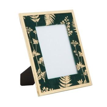 Ramă foto Mauro Ferretti Glam, 15 x 20 cm, verde - auriu imagine