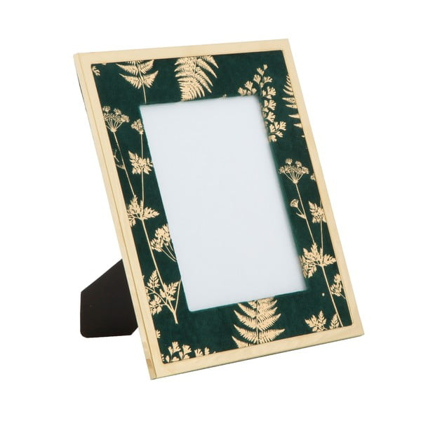 Ramă foto Mauro Ferretti Glam, 15 x 20 cm, verde - auriu