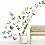 Samolepka na stěnu WALPLUS Veselí motýlci