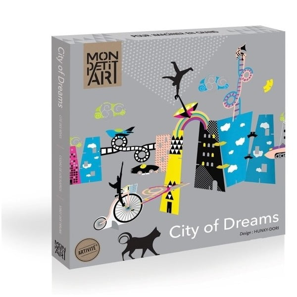 Set creativ Mon Petit Art City of Dreams