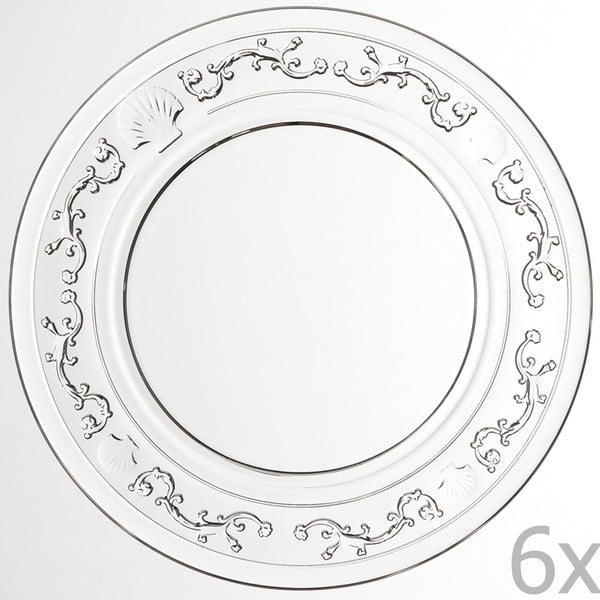 Sada 6 dezertních talířů Versailles, 19 cm