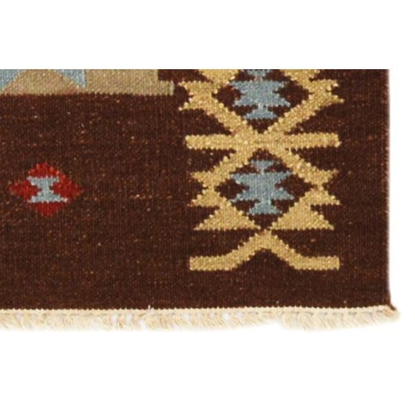 Ručně tkaný koberec Kilim Niral, 140x200cm