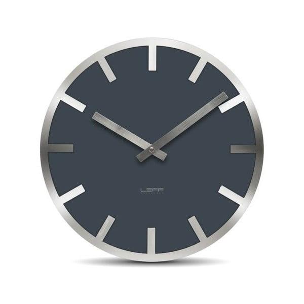 Nástěnné hodiny Grey Metlev, 35 cm