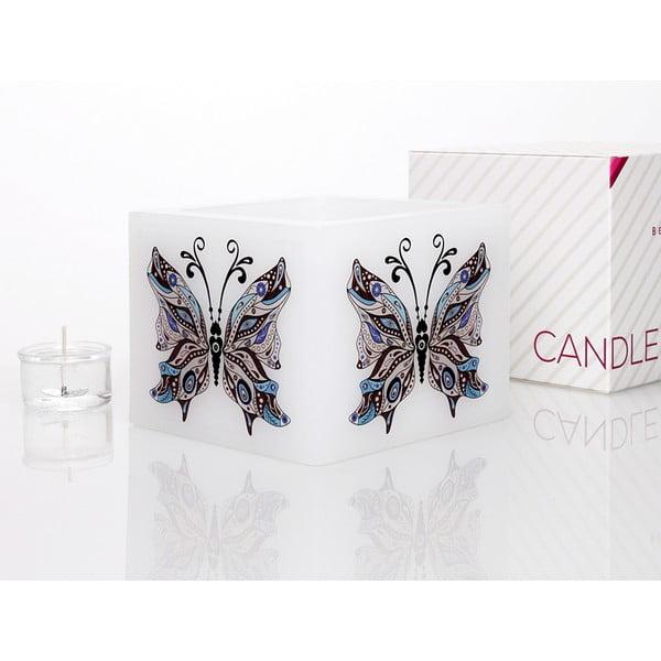 Svícen na čajovou svíčku Butterfly