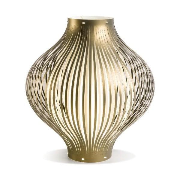Stolní lampa Luna, zlatá