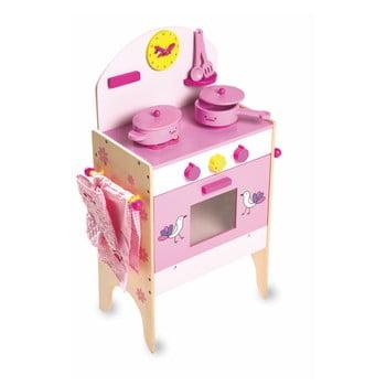 Bucătărie pentru copii cu 8 accesorii Legler Cooker de la Legler