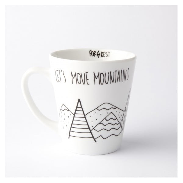 Hrnek Let´s Move Mountains, 400 ml