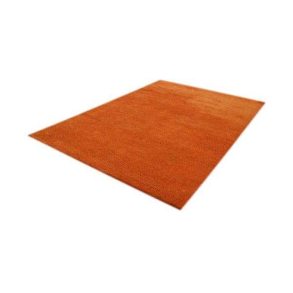 Vlněný koberec Kerima Orange, 70x140 cm