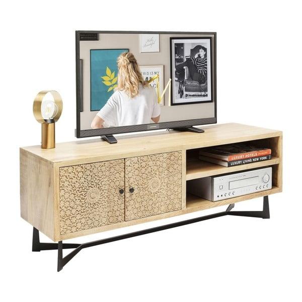 TV komoda z mangového dřeva Kare Design Exotica