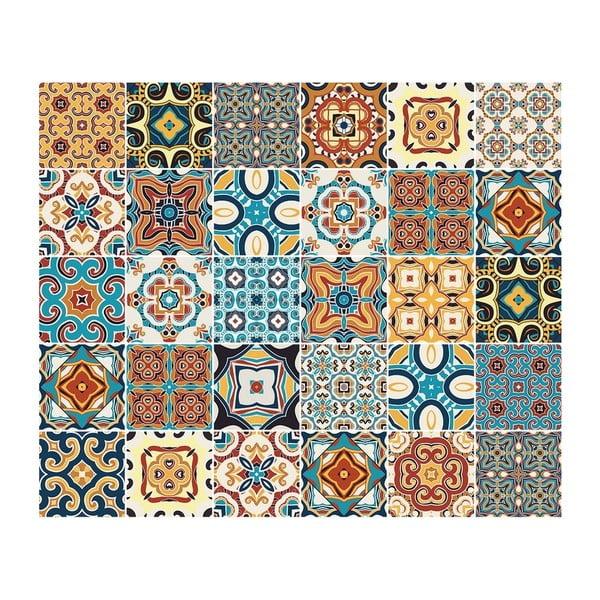 Set 30 autocolante pentru mobilă Ambiance Cesolino, 20 x 20 cm