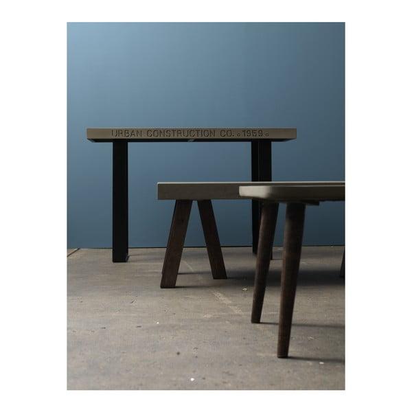 Konferenční stolek s betonovou deskou Fuhrhome Albany