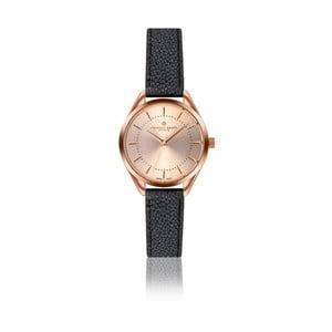 Dámské hodinky s černým páskem z pravé kůže Frederic Graff Melissa