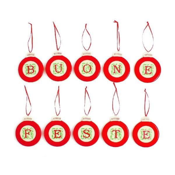 Set vánočních ozdob Buone Feste