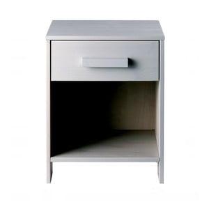 Noční stolek Dennis, šedý