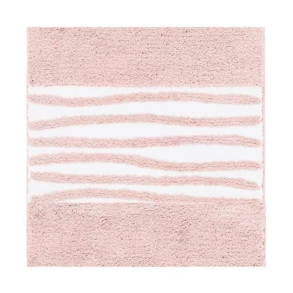 Koupelnová předložka Morgan Blush, 60x60 cm