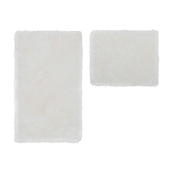 Sada 2 koupelnových předložek Spotlight White