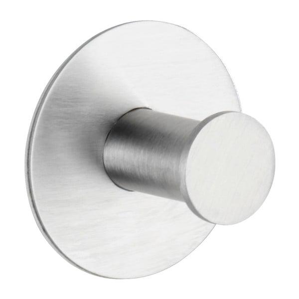 Samodržící nástěnný háček ve stříbrné barvě Wenko Celano