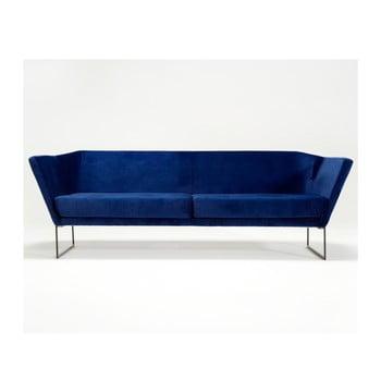 Canapea cu 3 locuri Spoko, albastru