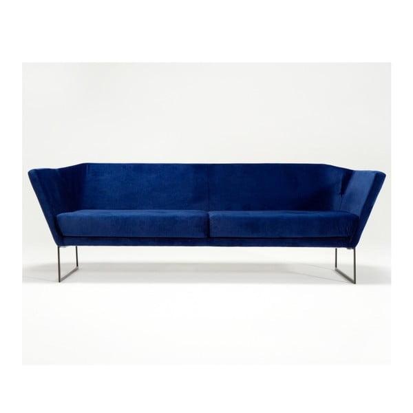 Modrá trojmístná pohovka Spoko