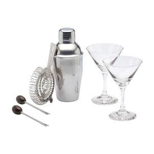 6dílný koktejlový set Kitchen Craft Martini Bar Craft
