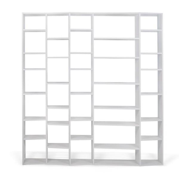 Bibliotecă TemaHome Valsa lățime 216 cm, alb