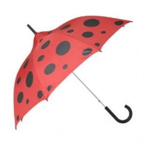 Dětský deštník Ladies Ladybug, red/black