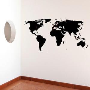 Samolepka World 110x140 cm