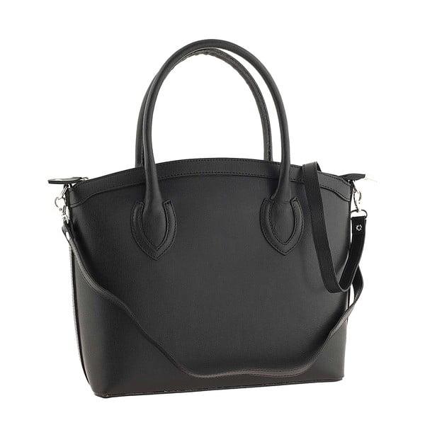 Kožená kabelka Ninety Black