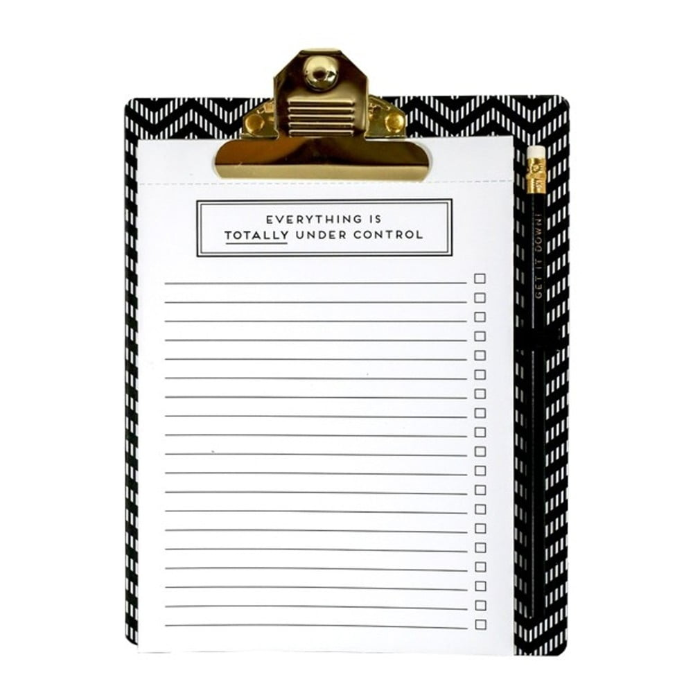 Desky s poznámkovým blokem a tužkou Alice Scott by Portico Designs