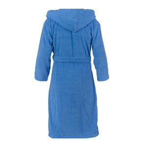 Modrý unisex župan z čisté bavlny Casa Di Bassi, L/XL