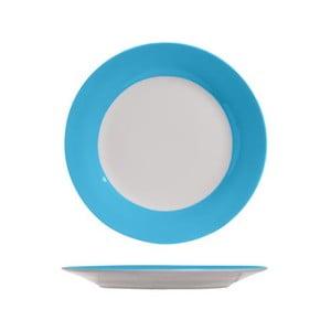 Set čtyř dezertních talířků, 19 cm, modrý