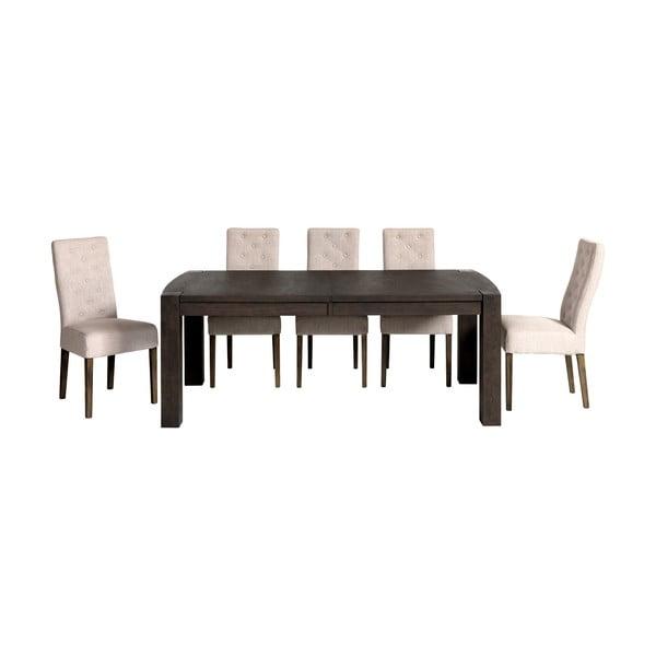 Jídelní stůl Ambassador Espresso, 200x100x75 cm