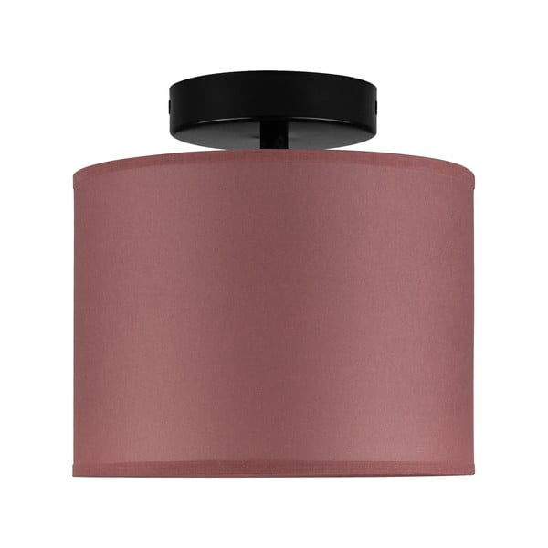 Vínovo-červené stropné svietidlo Sotto Luce Taiko