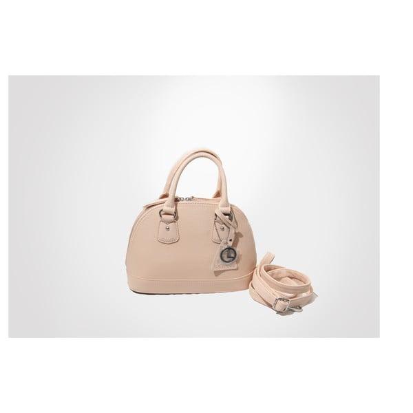 Kožená kabelka Toufee, pink