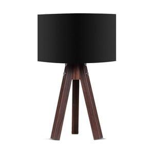 Stolní lampa s černým stínítkem Kate Louise Kahve