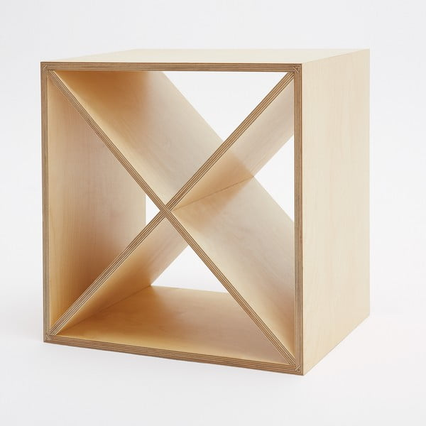 Skříňka s vyjímatelným křížem Fam Fara, 50x50 cm