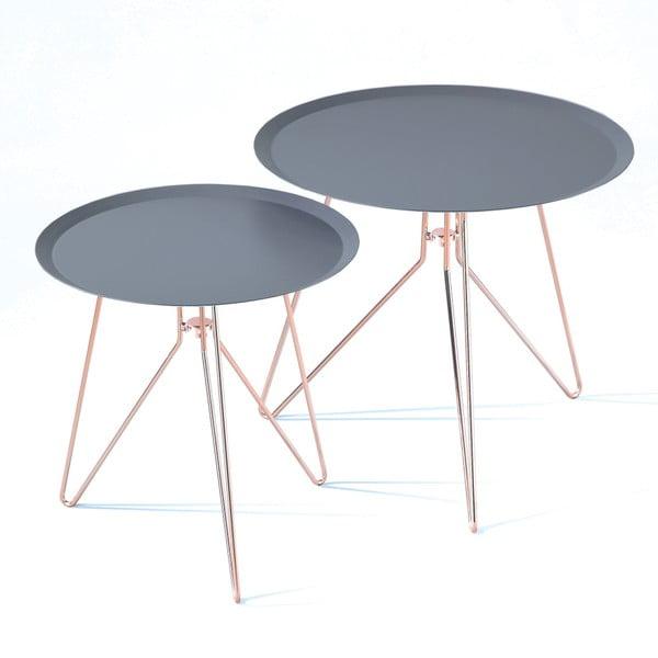 Jolli 2 db kék tárolóasztal - Tomasucci