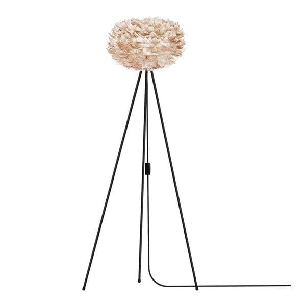 Krémové svítidlo z husího peří EOS, Ø30cm
