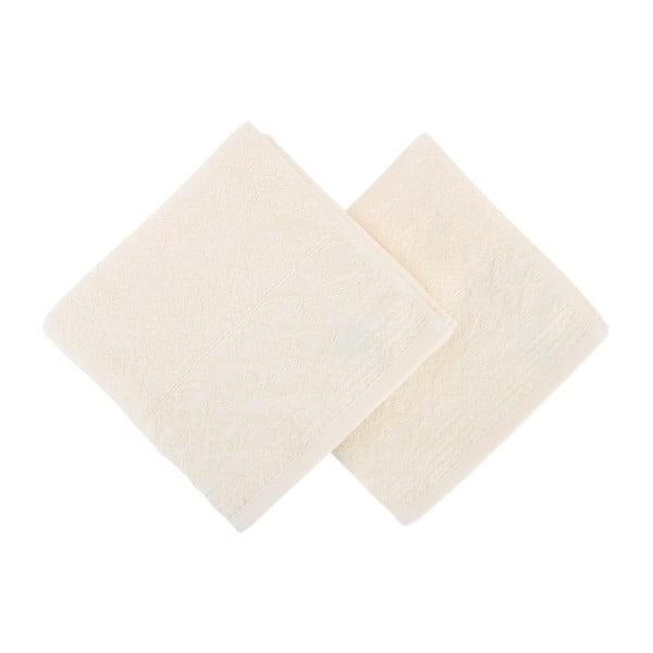 Sada 2 bavlnených uterákov Terry, 50×90 cm