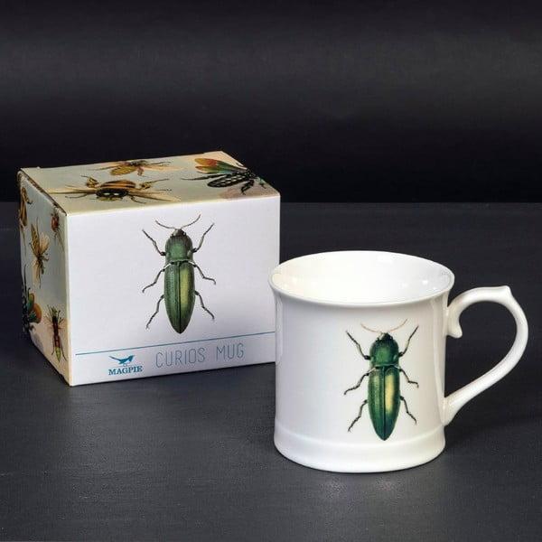 Hrnek Curious Green Beetle