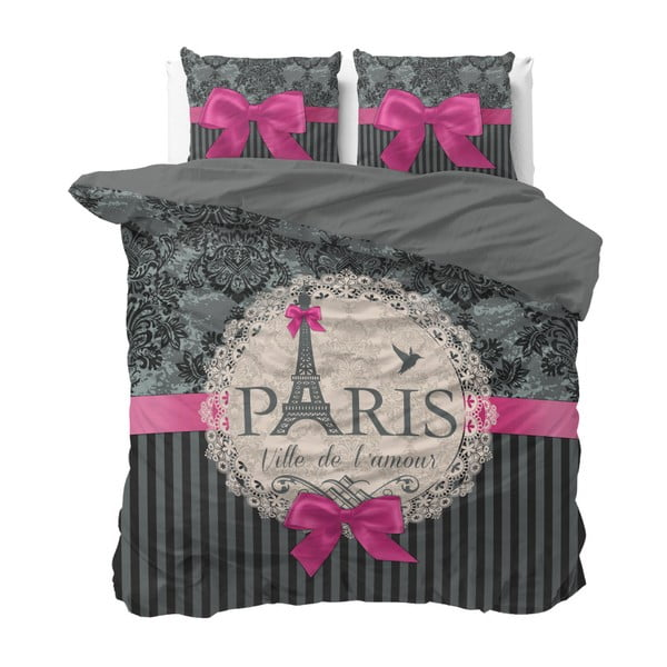 Love Paris kétszemélyes pamut ágyneműhuzat garnitúra, 200x220 cm - Sleeptime