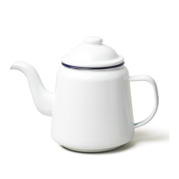 Biela smaltovaná čajová kanvička Falcon Enamelware, 1 l