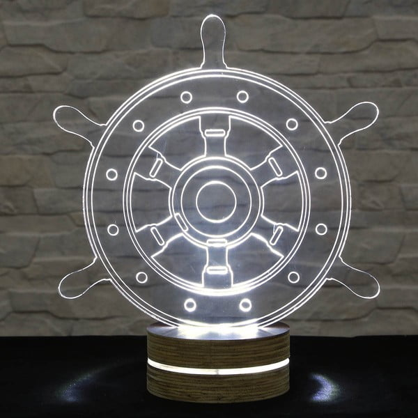 3D stolní lampa Rudder