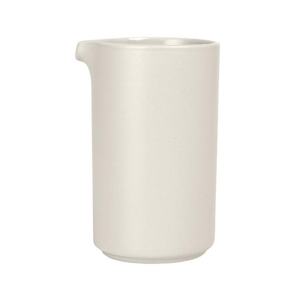 Bílý keramický džbánek Blomus Pilar,500ml