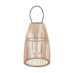 Bambusová tmavá lucerna J-Line Nat